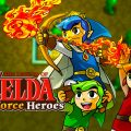 The Legend of Zelda: Tri Force Heroes artwork