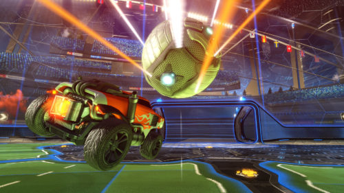 Rocket League Screen