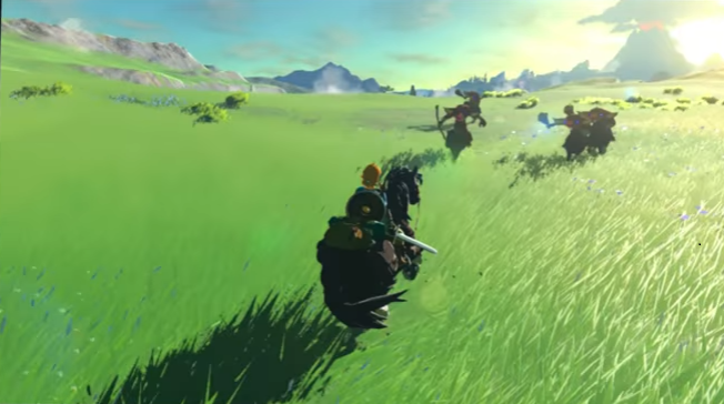 Potente o meno, Breath of the Wild appare indicibilmente bello su Switch.