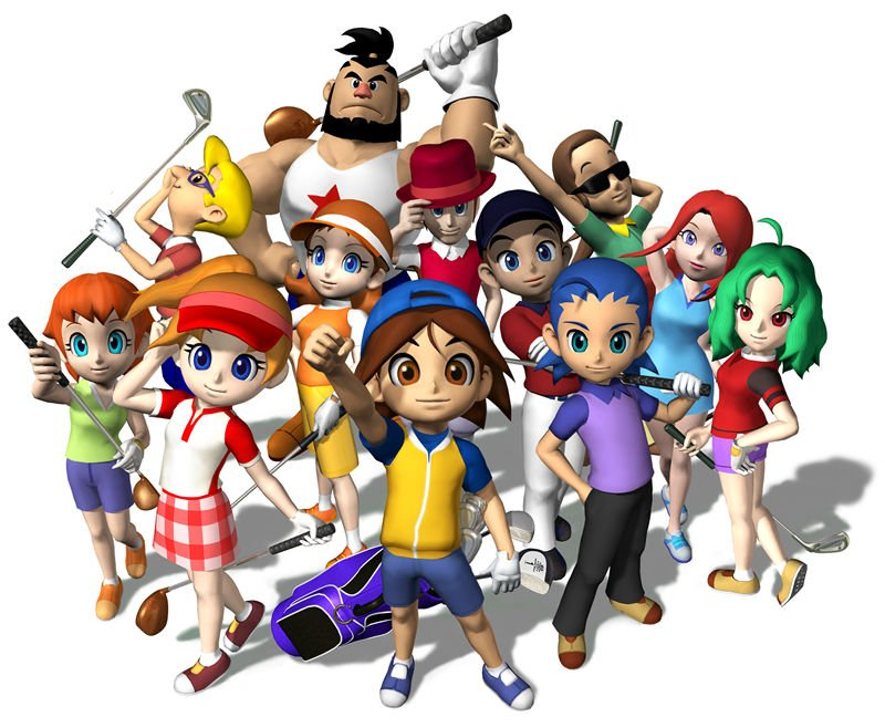 Mario Golf Advance Tour Crew