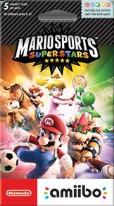 MarioSportsSuperstarsAmiiboCardPack