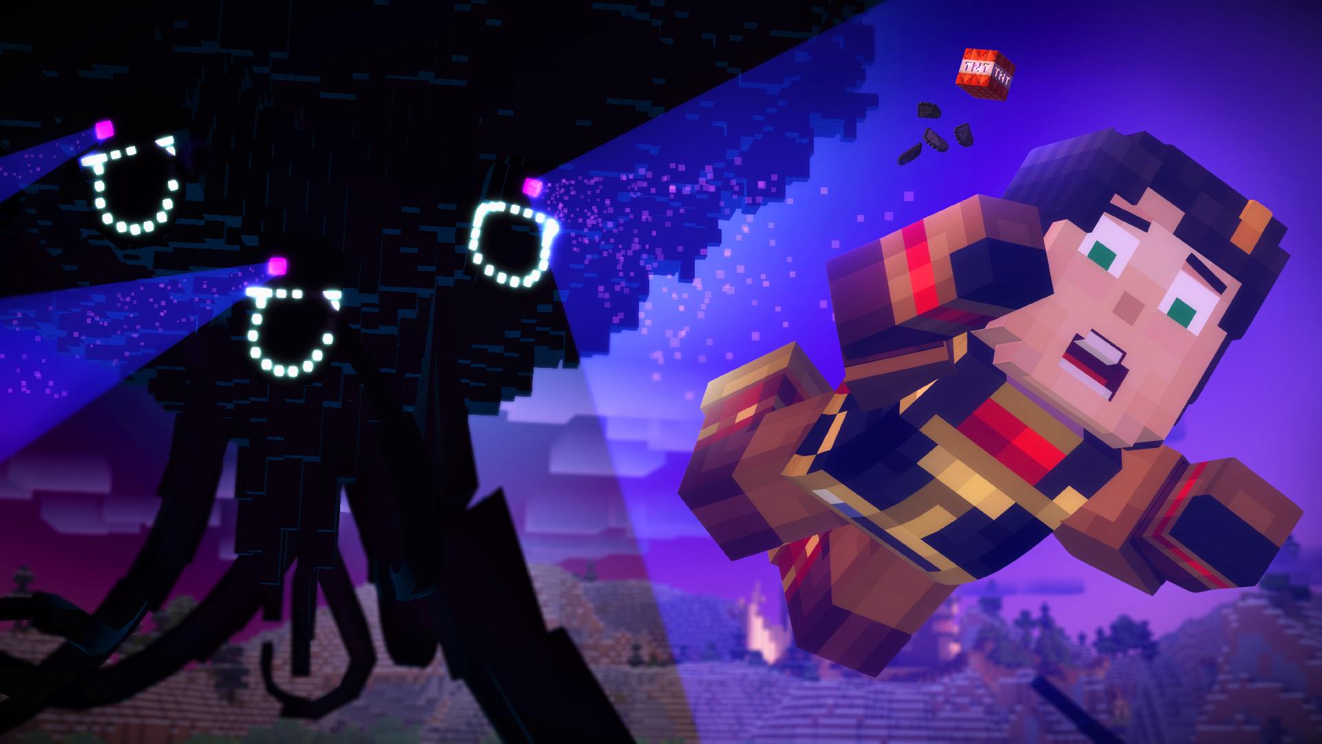 Minecraft Story Mode Screen1