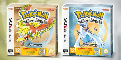 Pokemon Gold Silver package 3ds