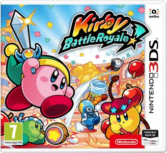 Kirby Battle Royale Boxart