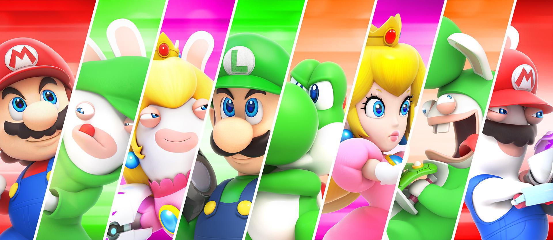 Mario + Rabbids Eroi