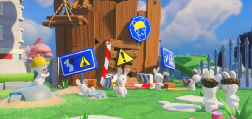 Mario + Rabbids: Kingdom Battle screen1