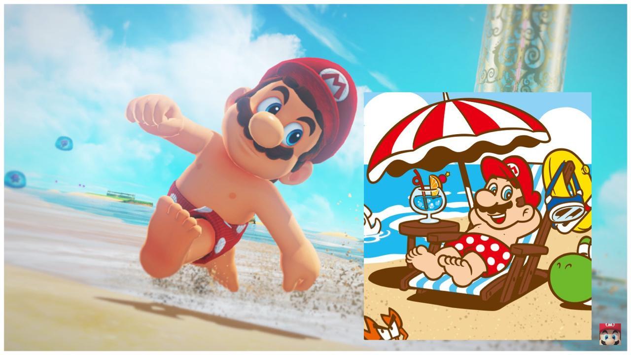 Sexy Mario Odyssey
