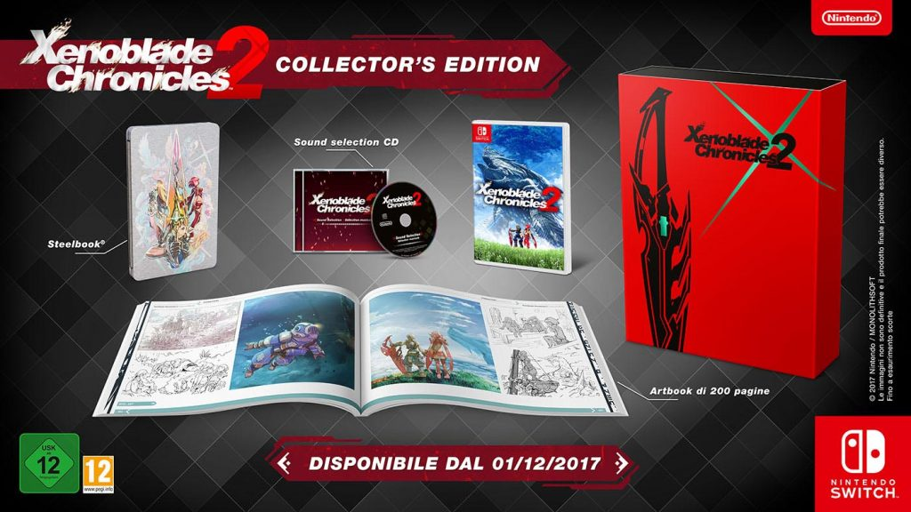 Xenoblade Chronicles 2 Limited Edition