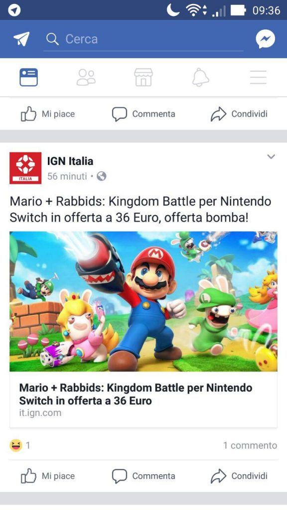 Mario + Rabbids ultrascontato