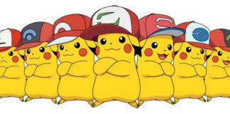Pikachu col cappello di Ash in Pokémon Sole e Luna