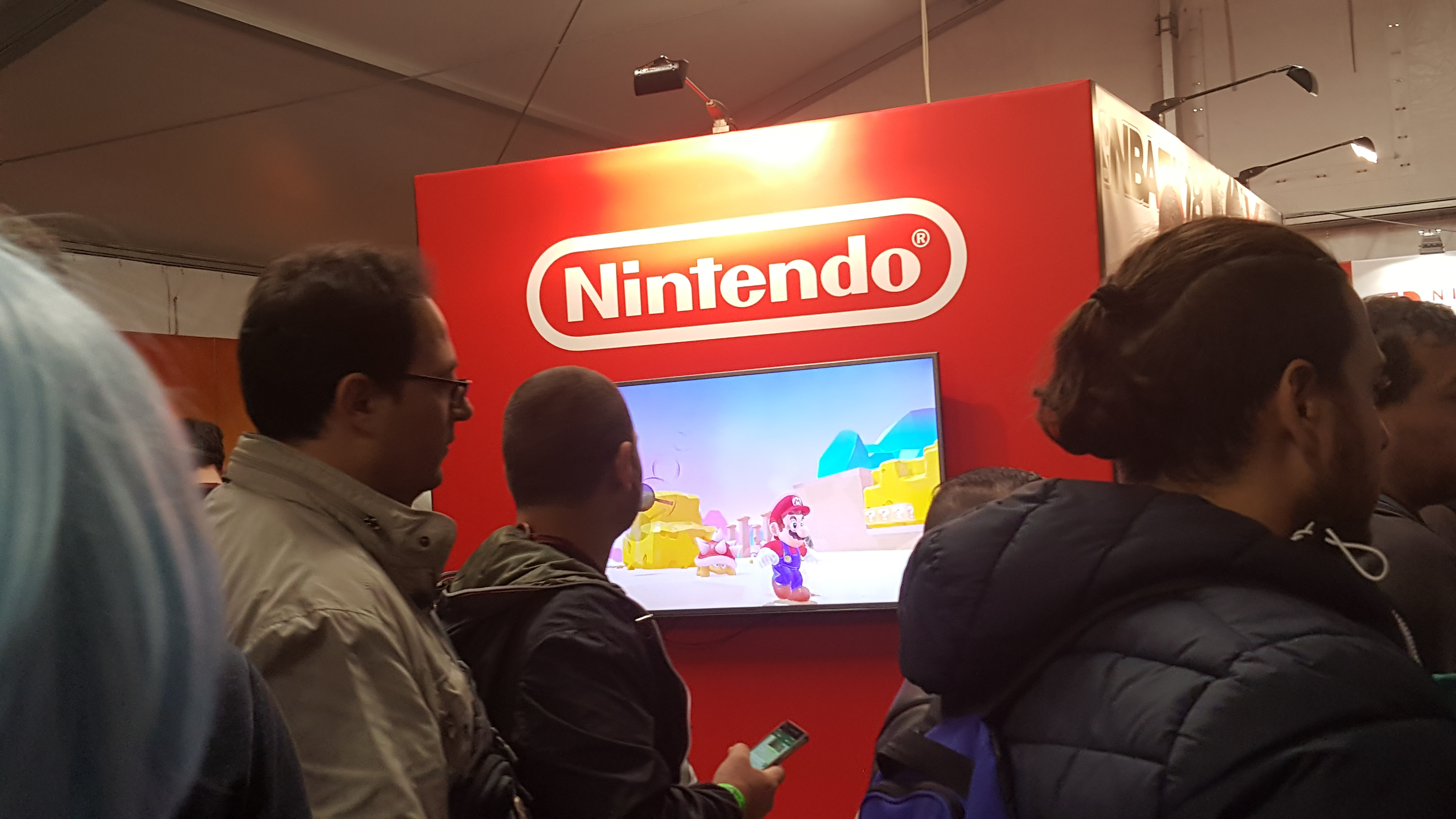 Padiglione Nintendo Lucca 2017
