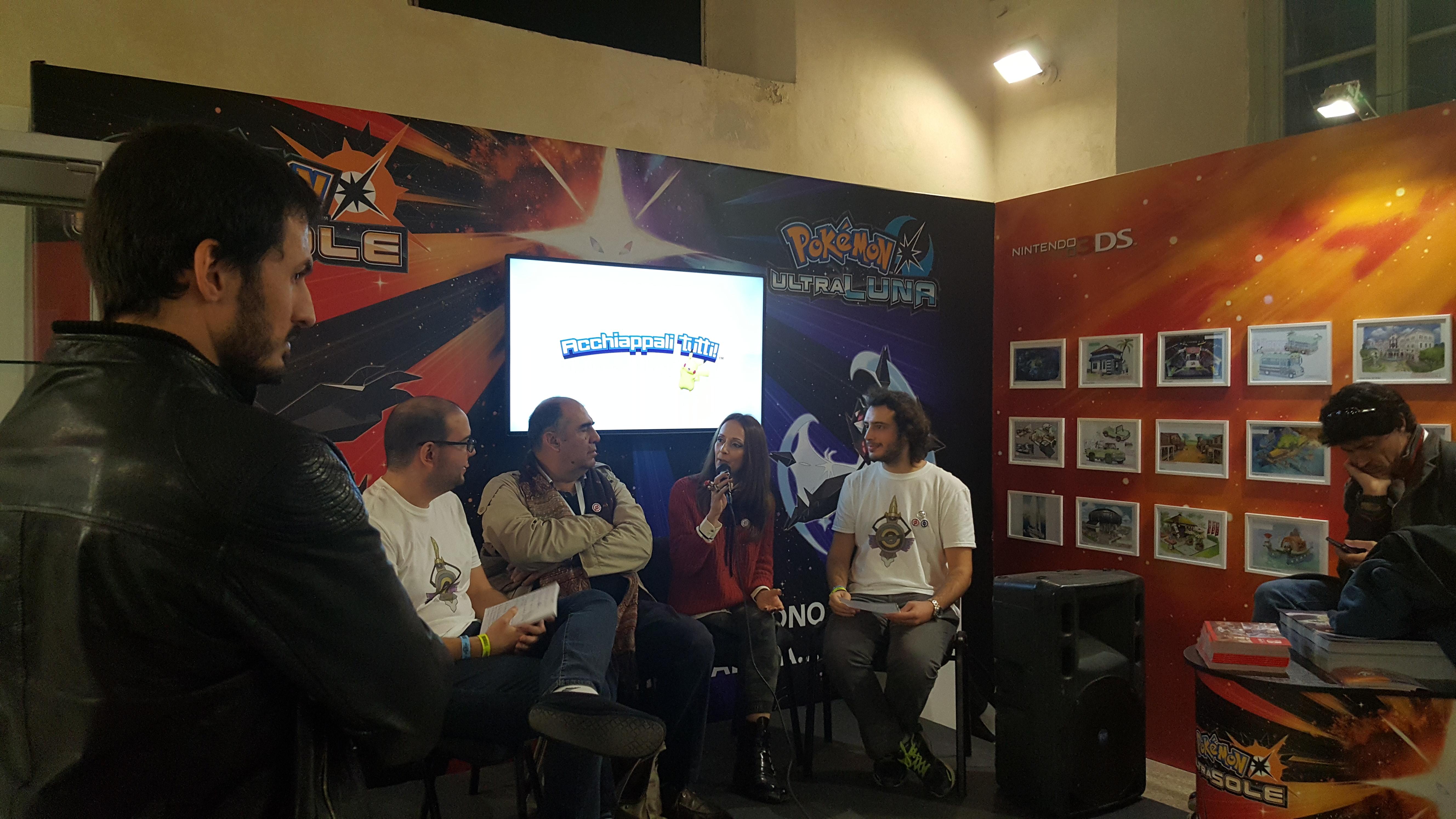 Intervista doppiatori a Lucca 2017