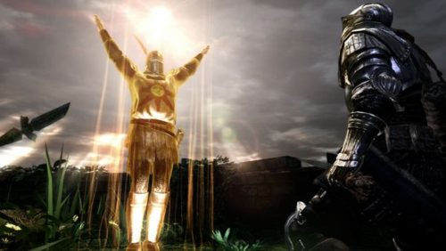 Solaire di Astora in Dark Souls