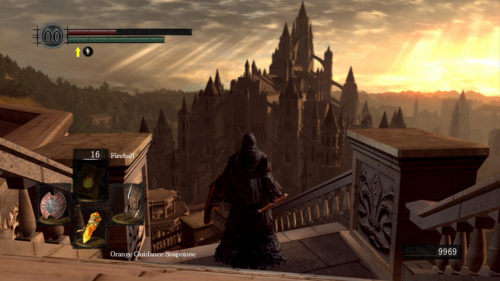 Anor Londo in Dark Souls