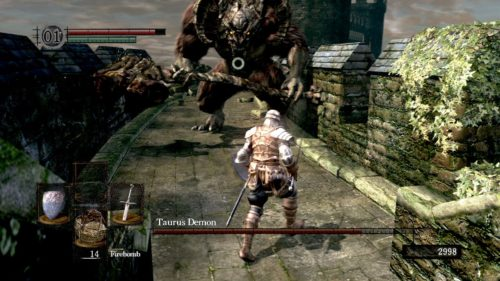 Demone Toro in Dark Souls
