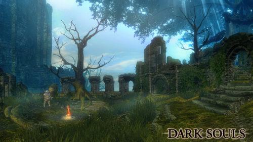 Santuario del Fuoco in Dark Souls