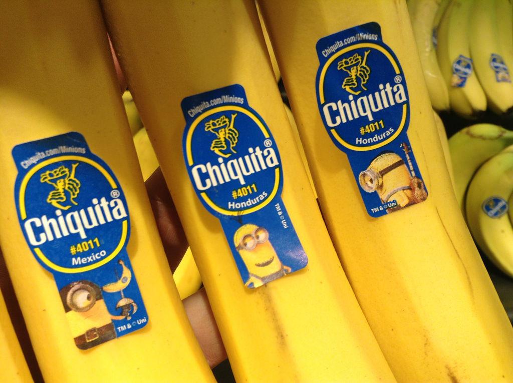 Banane con minions